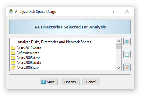 Analyze Network Servers and NAS Storage Devices