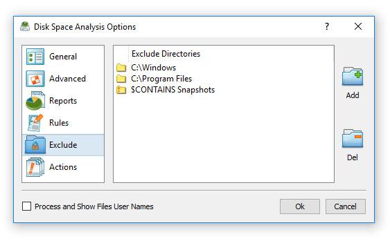 DiskBoss - Data Management Solution - Disk Space Utilization