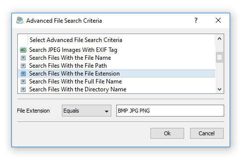 File Organizing Command Rule Extension