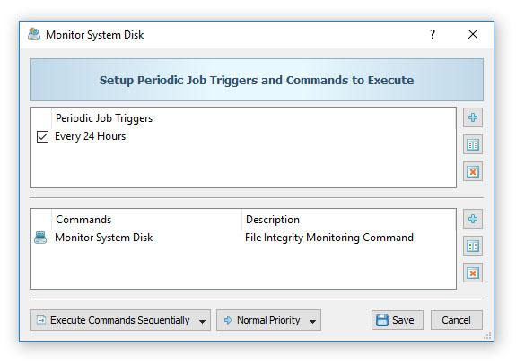 DiskBoss - Data Management Solution - File Integrity Monitor